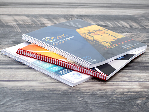 Spiral Bound Catalogs