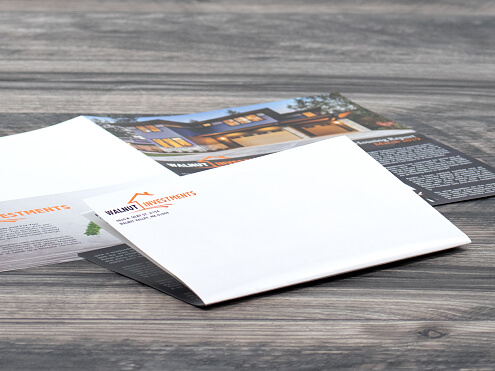 Right Angle Half Fold Newsletters