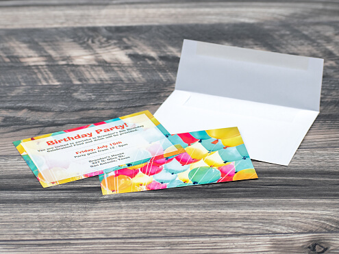 Invitations with Blank Envelopes