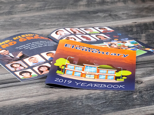 Stapled Booklet Yearbooks