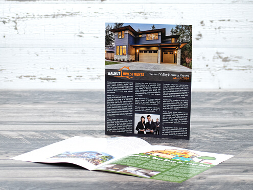 Half Fold Newsletter / Brochure