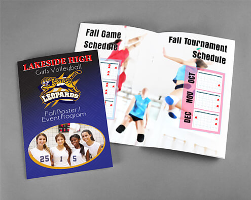 Sporting Event Programs