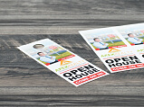 Door Hanger Jumbo - Perforated Thumbnail